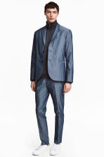 Chambray trousers Slim fit - Blue - Men | H&M 1