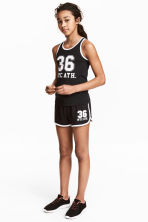 Shorts sportivi - Nero/New York -  | H&M IT 1
