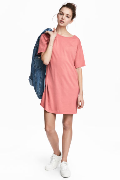 Robe T-shirt - Terracotta clair -  | H&M FR