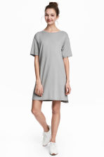 T-shirt dress - Grey - Ladies | H&M CN 1