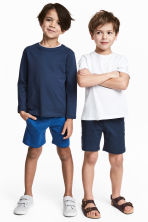2-pack jersey shorts - Dark blue - Kids | H&M 1