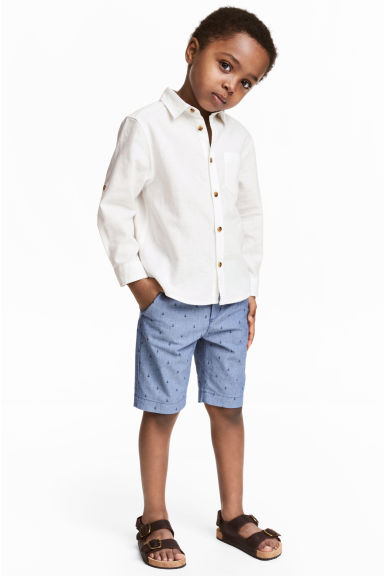 Chino shorts - Blue/Anchor -  | H&M