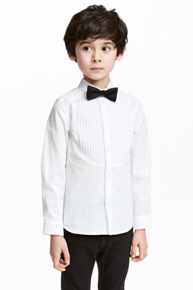 Dress shirt and bow tie - White - Kids | H&M CN 1