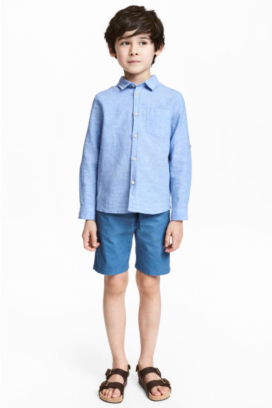Twill shorts - Cornflower blue - Kids | H&M 1