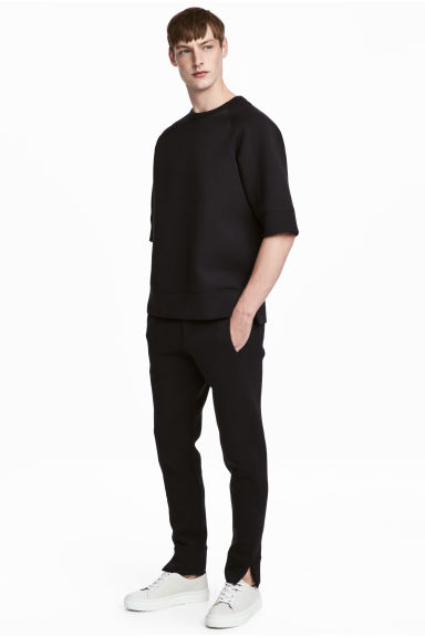 Scuba trousers - Black - Men | H&M CN 1