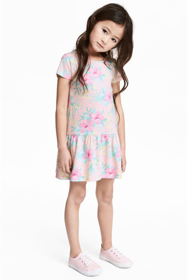 Jersey dress - Light pink -  | H&M 1