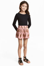 Patterned shorts - Pink - Kids | H&M CN 1