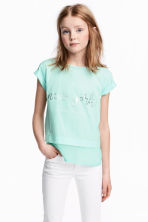 T-shirt a maniche corte - Mint/New York - BAMBINO | H&M IT 1