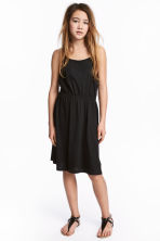 Jersey dress - Black -  | H&M CN 1