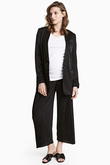 MAMA Pleated trousers - Black -  | H&M