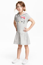 Robe en molleton - Gris/Hello Kitty - ENFANT | H&M FR 1