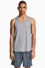 Sports top - Grey marl - Men | H&M 1