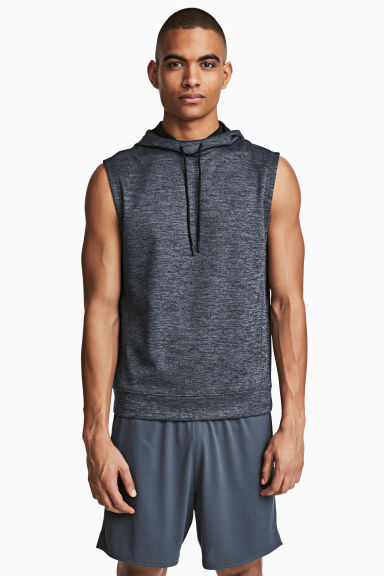 Sports shorts - Dark grey-blue - Men | H&M
