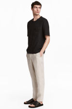 Wide trousers - Natural white -  | H&M 2