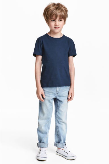 Pull-on jeans - Light denim blue - Kids | H&M 1
