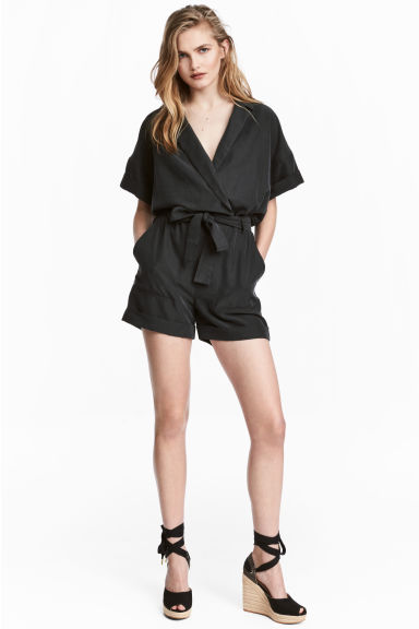 Modal-blend playsuit Model