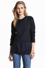 Tunic - Dark blue - Ladies | H&M 1