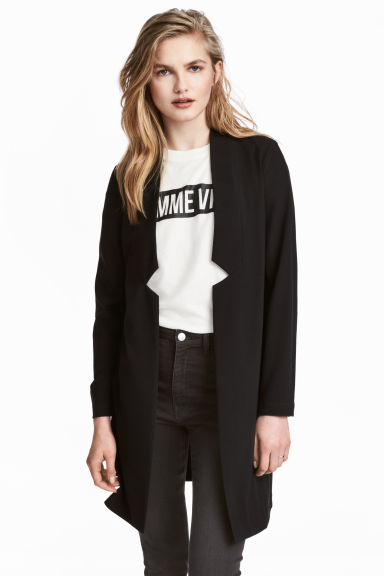 Long jacket - Black - Ladies | H&M CN 1