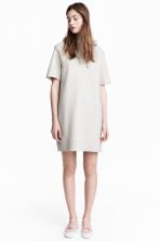 Hooded dress - Grey - Ladies | H&M 1