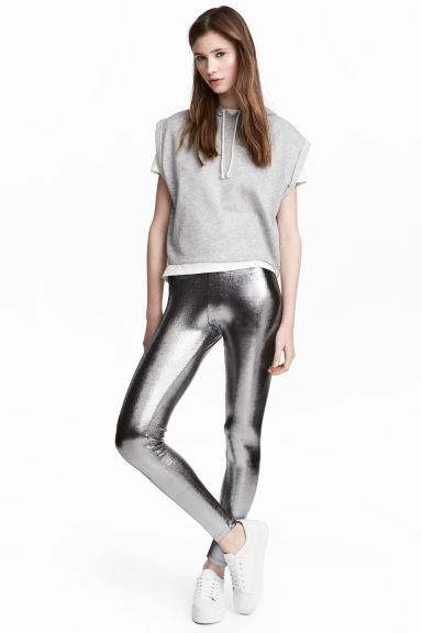Coated leggings Model