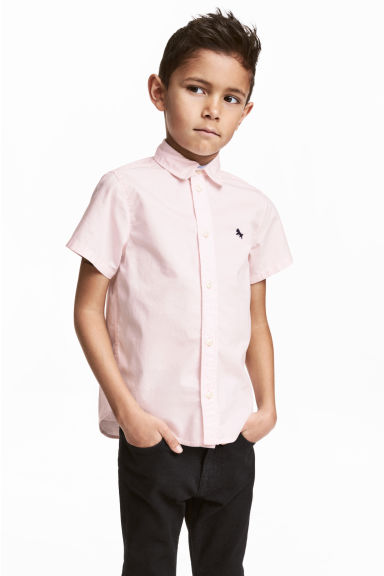 Cotton shirt - Light pink -  | H&M