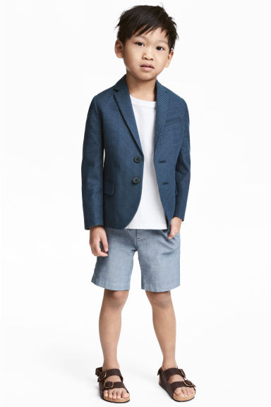 Chino shorts - Blue/Chambray -  | H&M CN 1