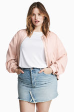 H&M+ Bomber jacket - Powder pink - Ladies | H&M 1