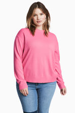 H&M+ Fine-knit jumper - Pink - Ladies | H&M CN 1