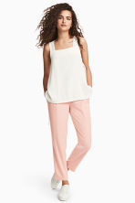 Dressy trousers - Powder pink -  | H&M CN 1