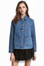 Denim jacket - Denim blue - Ladies | H&M GB 1
