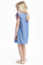 Cotton dress - Blue/Chambray -  | H&M CN 1