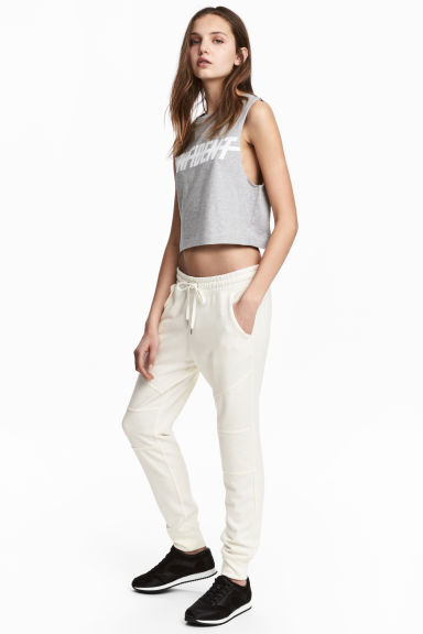 Joggers - Wit - DAMES | H&M BE
