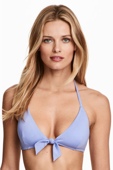 Bikini top - Light lavender - Ladies | H&M 1