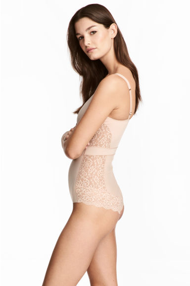 Lightly shaping body - Chai - Ladies | H&M CN 1