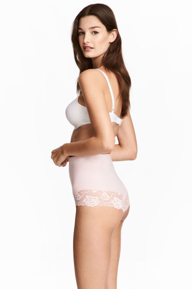 Shaping briefs High waist  - Light pink -  | H&M 1