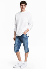 Denim shorts - Denim blue - Men | H&M CA 1