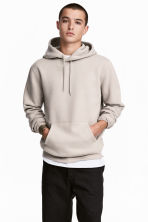 Hooded top - Beige - Men | H&M CN 1