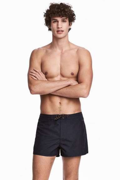 Swim shorts - Dark blue - Men | H&M 1