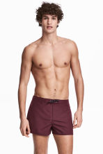 Swim shorts - Burgundy - Men | H&M 1