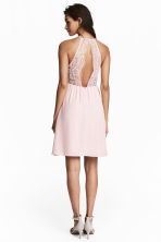 Dress with lace details - Light pink - Ladies | H&M 1