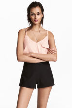 Shorts High waist - Svart - DAM | H&M FI 1