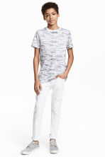 Skinny fit Jeans - White - Kids | H&M CN 1