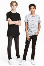 2-pack T-shirts - Black -  | H&M CN 1