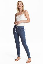 Joggers - Dark blue marl - Ladies | H&M 1