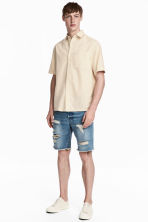 Denim shorts - Light denim blue - Men | H&M CA 1