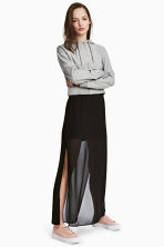 Long skirt - Black - Ladies | H&M CN 1