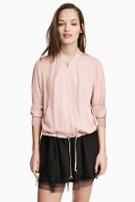 Bomber jacket - Powder pink - Ladies | H&M 2