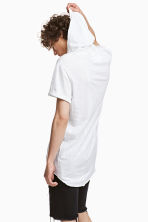 Hooded T-shirt - White - Men | H&M 1