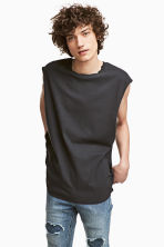 Vest top - Black - Men | H&M CN 1