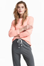 運動衫 - Powder pink - Ladies | H&M 1